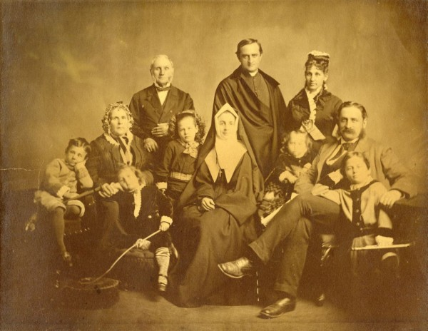 La famille Beaubien, 1874 / BAnQ, P1000,D1316
