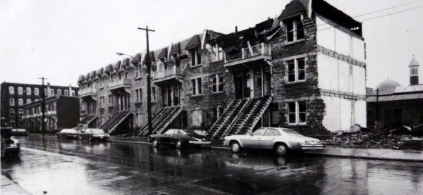 Saint-Dominique Street north of Saint-Viateur, Spring 1976. Photo by Philippe DuBerger