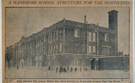 (Français) École Edward Vii, Montreal Star, 8 février 1913