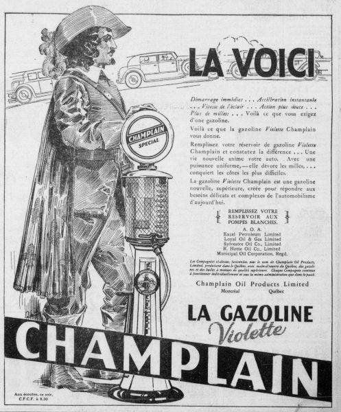 Champlain se présente au public montréalais