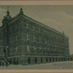 École Saint-Louis, carte postale, vers 1910 [BAnQ]