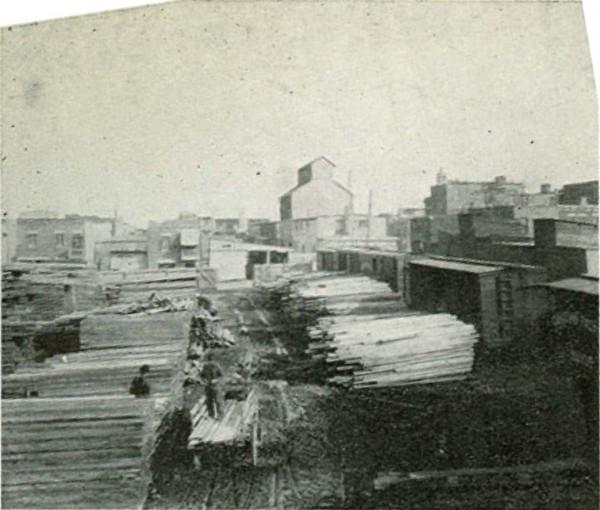 Carrière & Frère, av. Laurier Est The North End, 1913, Archives de la Ville de Montréal