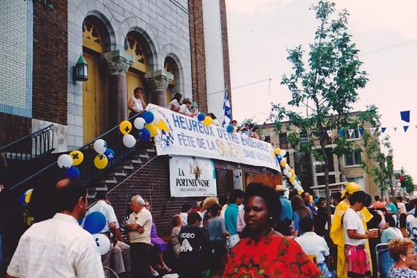 Fête de la Saint-Jean, rue Saint-Viateur, en 1992 / Comité des citoyens du Mile End