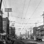 L'hôtel de la gare, mars 1940 (Archives de la ville de Montréal)