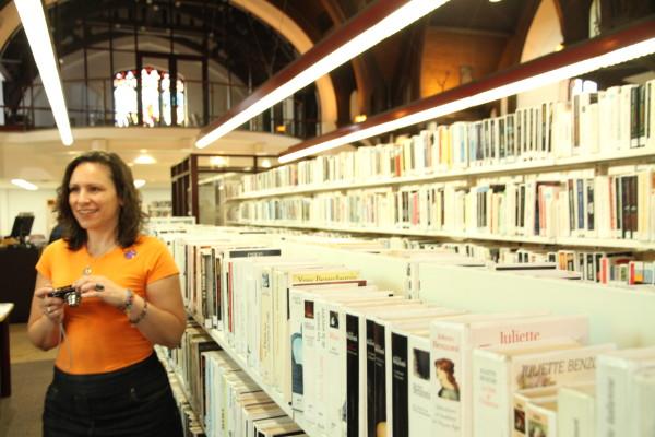 Anik April, animatrice, Bibliothèque du Mile End