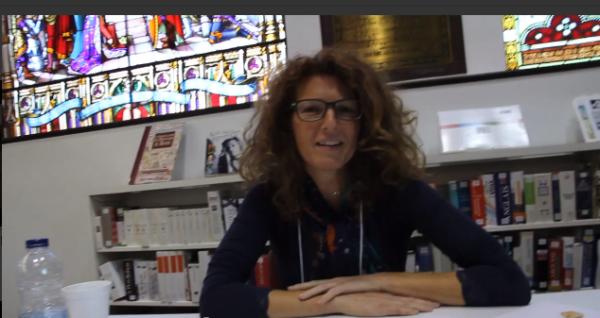 L'artiste Isabelle Anguita, membre du Comité des citoyens du Mile End