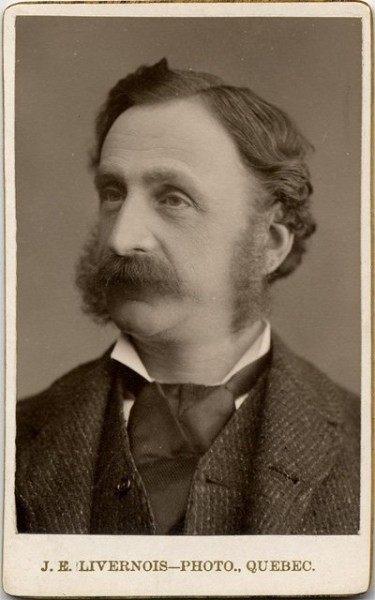 Louis Beaubien, around 1880 (BAnQ).