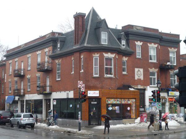 Vue d'ensemble des «appartements St-Georges»