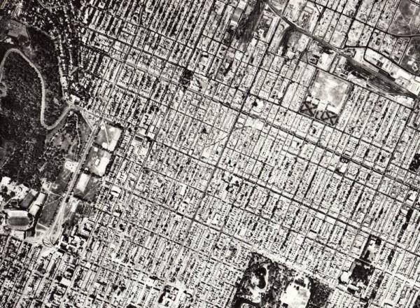 Canada, Photothèque nationale de l'air, Montréal 1965, cliché A 18763-150 (1:20000)