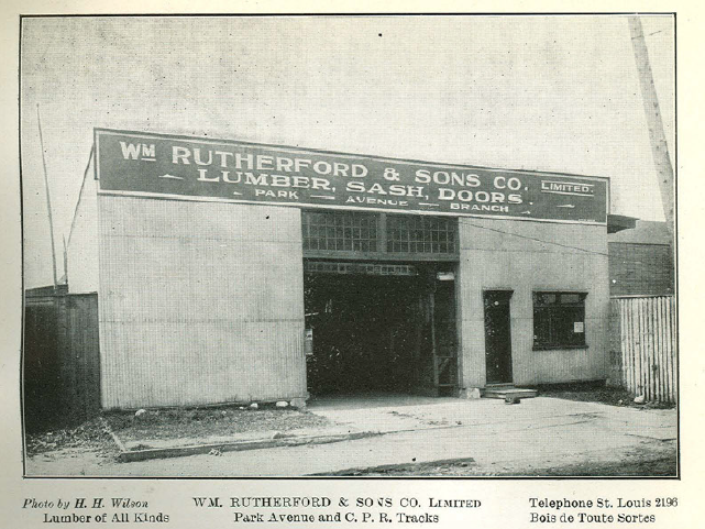 Rutherford & Sons – Lumber