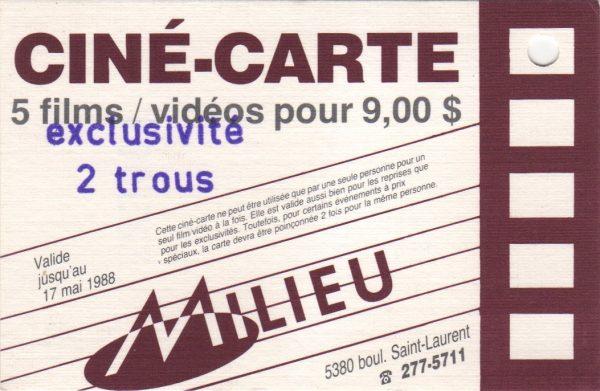 ciné-carte